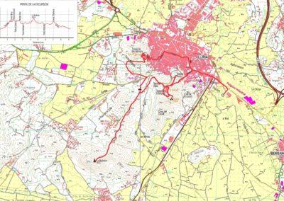 Mapa Lliria