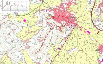 Crònica Llíria – Ruïnes d'Edeta – Senda dels Tossals (PR-CV365) 10-01-2018