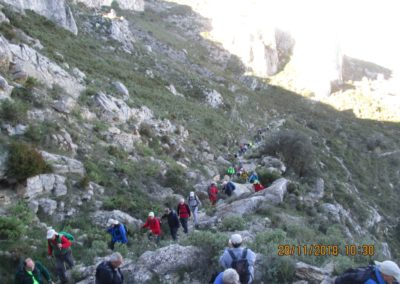 2018-11-28 Benissiva-Penya Foradada-Cova del Moro (10)