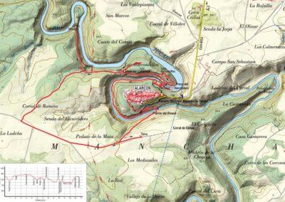 Mapa Alarcon