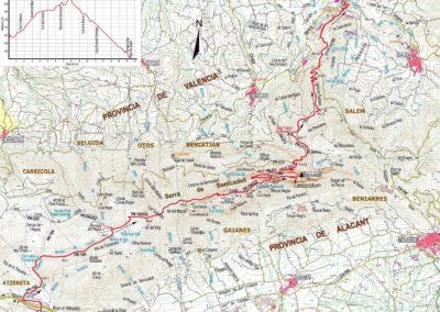 Mapa Benicadell
