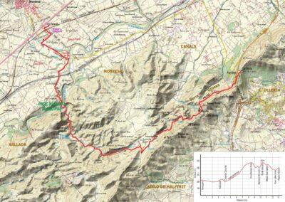 Mapa Montesa