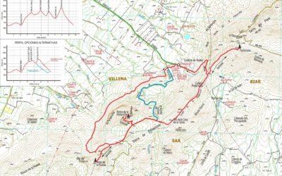 Crònica de  Villena – Serra de Peña Rubia 17-01-2018