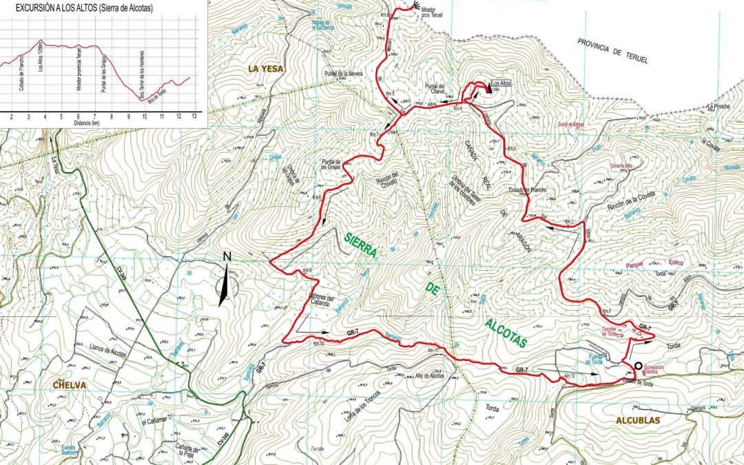 Crònica de Serra d'Alcotas-Cim de los Altos 18 – 04 – 2018
