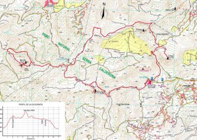 Mapa Pic Aguila-Mola