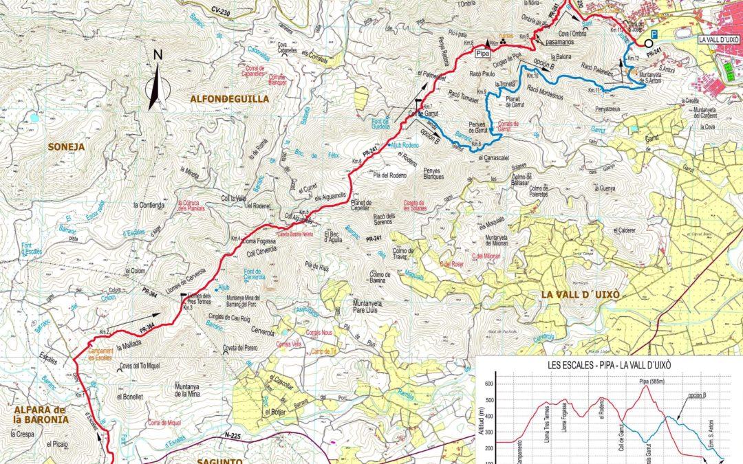 Crónica de Les Escales – El Pipa – Vall d'Uixó 25 – 4 – 2018
