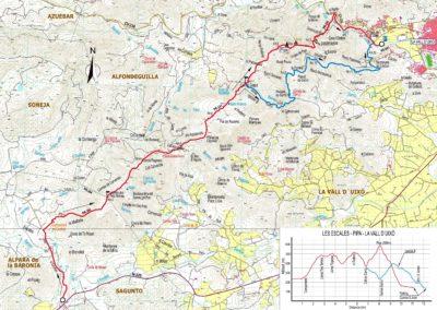 Mapa Vallduixo