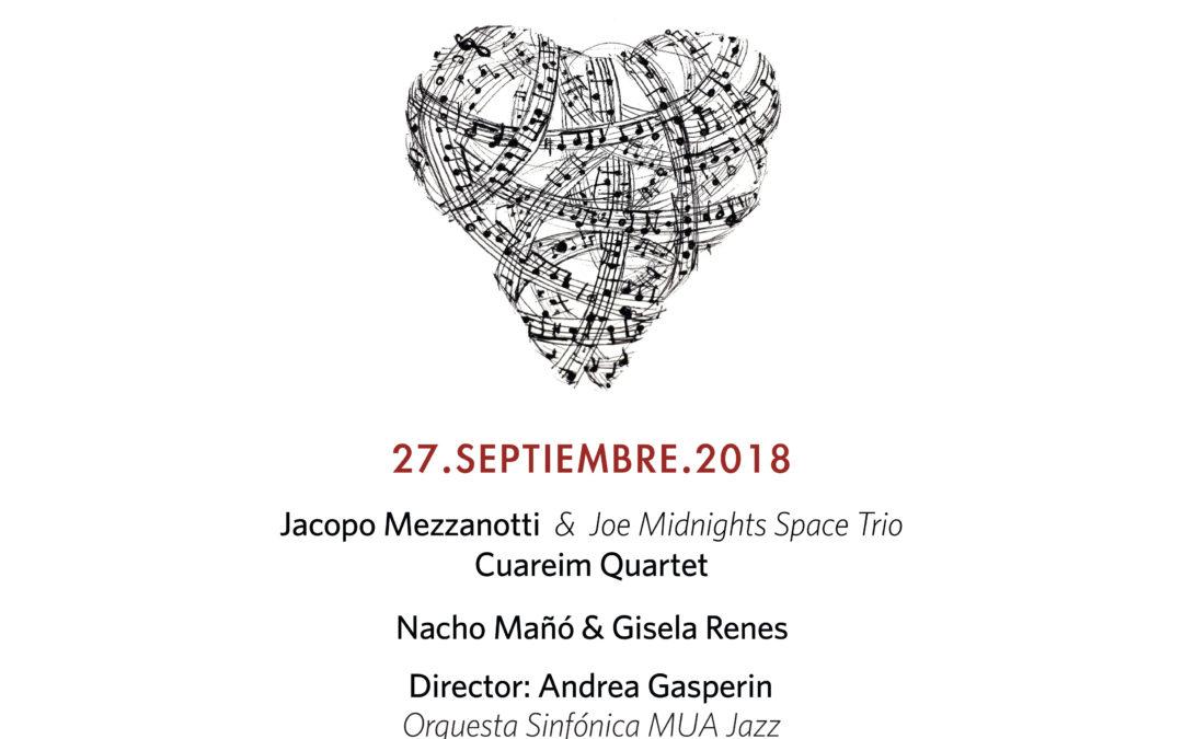 Concierto Sinfónico Jazz para el Autismo – 27 de septiembre a las 20h en el Palau de la Música