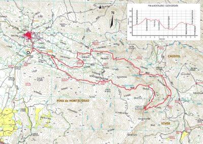 Mapa Pina Mont