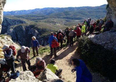 2018-11-28 Benissiva-Penya Foradada-Cova del Moro (20)