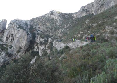 2018-11-28 Benissiva-Penya Foradada-Cova del Moro (5)