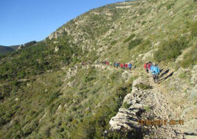 2019-02-13 SieteAguas-La Vallesa-Baranco Tejerias-Siete Aguas(108)