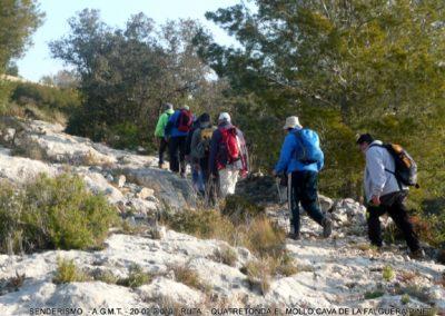2019-02-20 Quatretonda-El Mollo-Cava de la Folguera-Pinet (126)