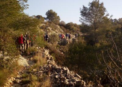 2019-02-20 Quatretonda-El Mollo-Cava de la Folguera-Pinet (129)