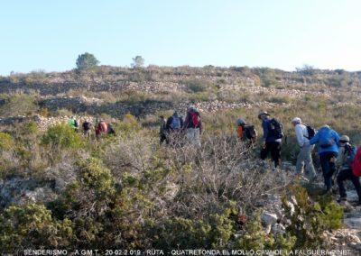2019-02-20 Quatretonda-El Mollo-Cava de la Folguera-Pinet (130)