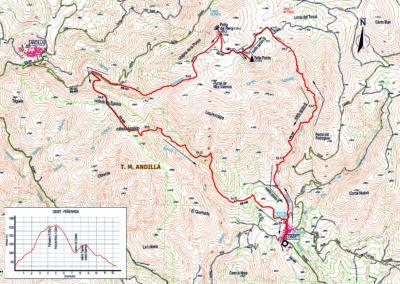 Mapa Osset-Peñaparda