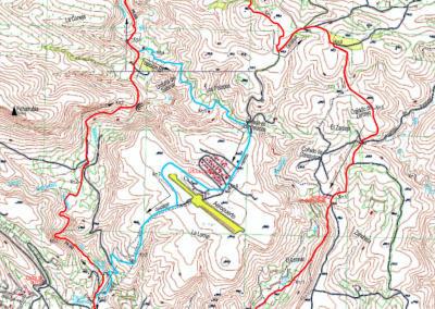 Mapa Siete Aguas