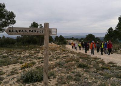 2019-03-06 Sierra de Enguera-Altos Salomon-Fuentes Navalon(117)