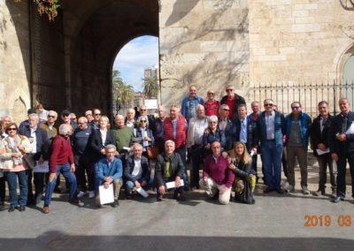 2019-03-13 Marxa Fallera-Murallas de la Valencia Musulmana(101)