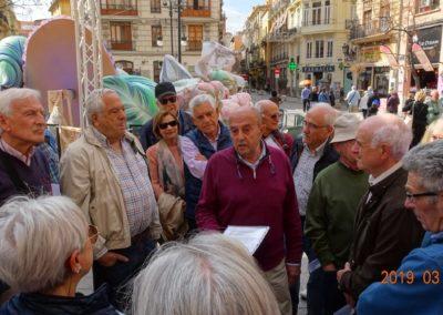 2019-03-13 Marxa Fallera-Murallas de la Valencia Musulmana(104)