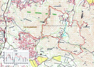 Mapa Les Rodanes