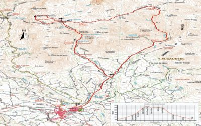 CRONICA CAUDIEL CIRCULAR, ALTO DE LAS PALOMAS (1156 m), SENDA DE LOS CONTRABANDISTAS (17-04-2019)