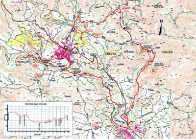 Mapa Peña Cortada-Calles
