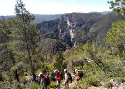2019-05-29 Montanejos-Sendenro La Bojera-Barranco de Mainera(109)
