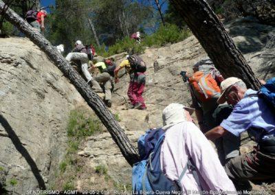 2019-05-29 Montanejos-Sendenro La Bojera-Barranco de Mainera(112)