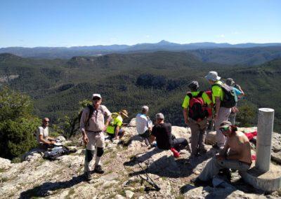 2019-05-29 Montanejos-Sendenro La Bojera-Barranco de Mainera(116