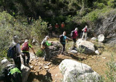 2019-05-29 Montanejos-Sendenro La Bojera-Barranco de Mainera(123)