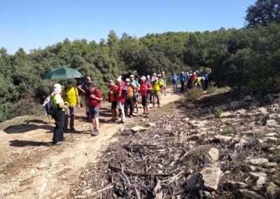 2019-09-18 Dup. Ruta verde de Alcoy-Pinturas Cuevas La sagra(113)