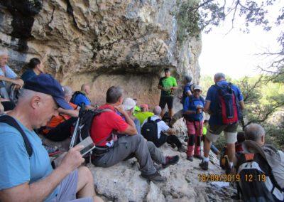2019-09-18 Dup. Ruta verde de Alcoy-Pinturas Cuevas La sagra(117)