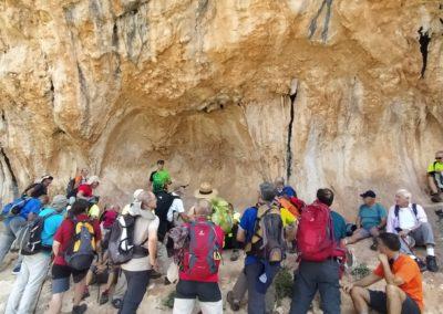 2019-09-18 Dup. Ruta verde de Alcoy-Pinturas Cuevas La sagra(118)