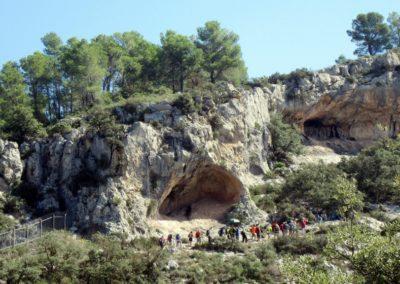 2019-09-18 Dup. Ruta verde de Alcoy-Pinturas Cuevas La sagra(120)