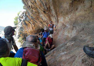 2019-09-18 Dup. Ruta verde de Alcoy-Pinturas Cuevas La sagra(124)