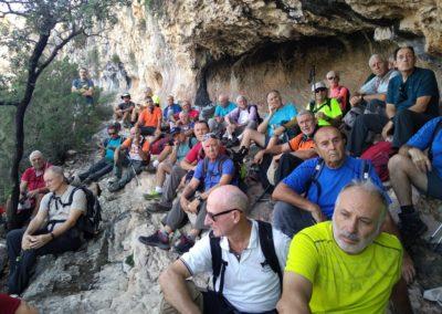 2019-09-18 Dup. Ruta verde de Alcoy-Pinturas Cuevas La sagra(125)