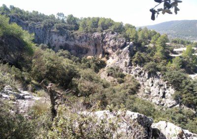 2019-09-18 Dup. Ruta verde de Alcoy-Pinturas Cuevas La sagra(126)