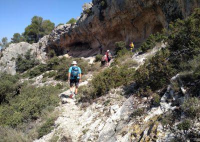 2019-09-18 Dup. Ruta verde de Alcoy-Pinturas Cuevas La sagra(127)