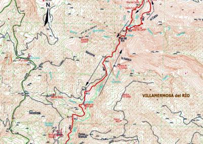 Mapa Rio Carbo
