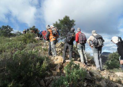 2019-11-13 Ain GR-36 Peñas Blancas-Tossal Gros-Castillo de Benali (119)