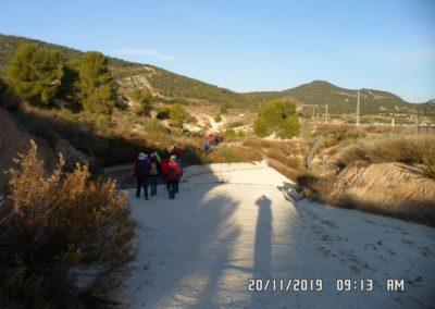 2019-11-20 Font de la Figuera-El Silla (107)