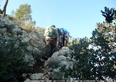 2019-11-20 Font de la Figuera-El Silla (116)