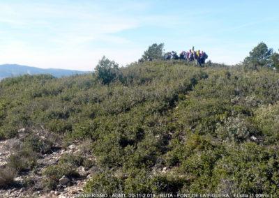 2019-11-20 Font de la Figuera-El Silla (120)