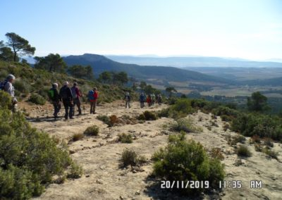 2019-11-20 Font de la Figuera-El Silla (122)
