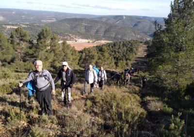 2019-11-20 Font de la Figuera-El Silla (124)