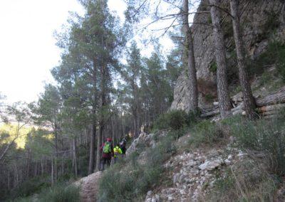 2019-11-20 Font de la Figuera-El Silla (125)