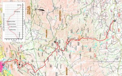 CRÒNICA MARXA LINEAL PER LA SERRA GROSSA – ONTINYENT (Km. 46 CV-660) – VALLADA (29 – 01 – 2020)