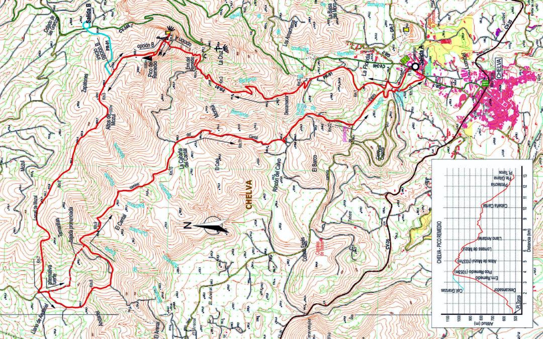 CRÒNICA CHELVA-EL REMEDIO-CHELVA (1.053 Puntuable 25 Miles) (05-02-2020)
