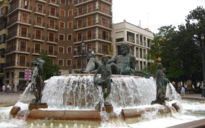 Visita a las fuentes monumentales de Valencia 6-2-2020